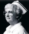 Portrait of Mae F. Keefer