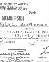 Eula Lole MacPherson McMillian' membership card